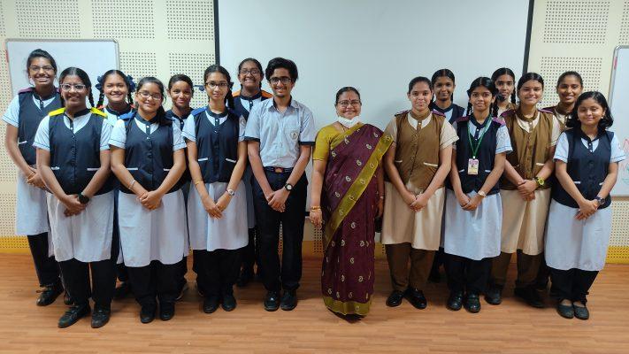 Bhavan's School swachhata pakwada