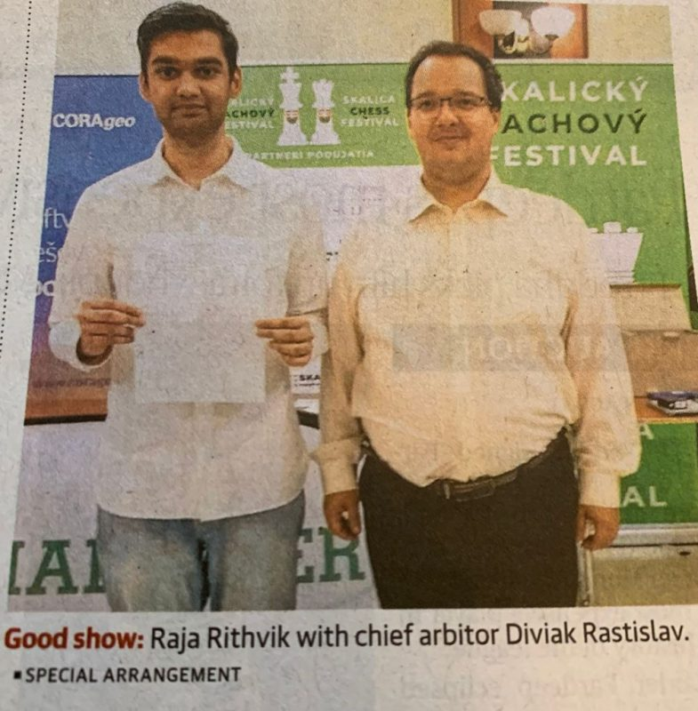 Second Chess Grand Master from BSRKV